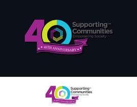 #62 untuk Logo Design - 40th Anniversary version oleh subhojithalder19
