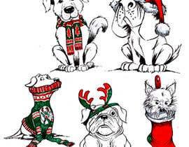 #6 for Boxer Dog drawings  . comedic . . af ecomoglio