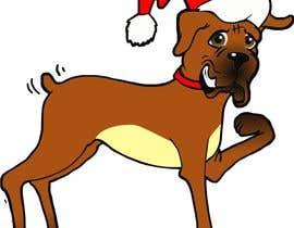 #4 for Boxer Dog drawings  . comedic . . af manikmoon