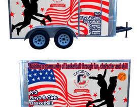 nº 5 pour Enclosed trailer exterior graphics par TheFaisal