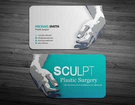 #106 para Business cards for a plastic surgeon's practice por ershad0505