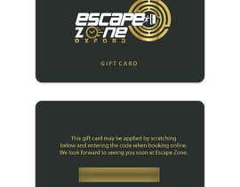 nº 42 pour Gift Card Design par kristinavucinic