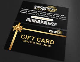 nº 28 pour Gift Card Design par FreelancerAnis