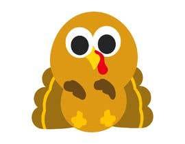 Nro 13 kilpailuun Design a dabbing Turkey color vector image for a cookie cutter käyttäjältä Savioperera
