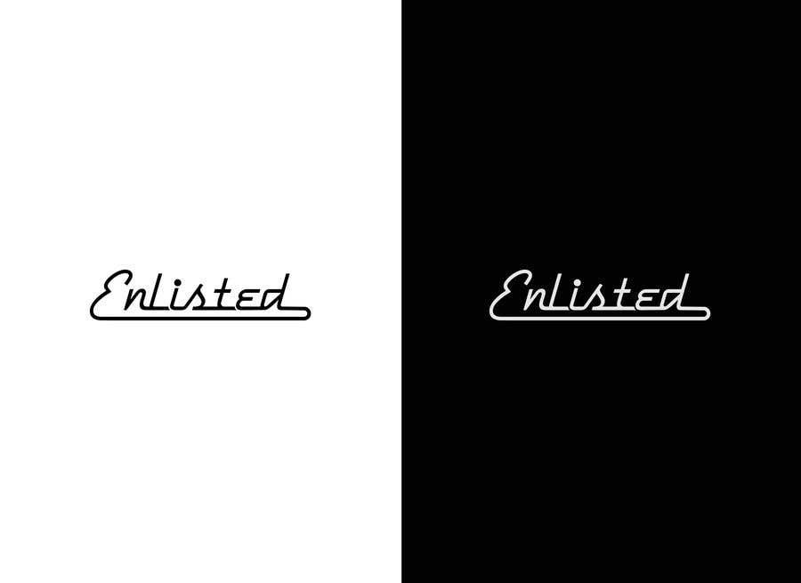 Inscrição nº 267 do Concurso para Custom Cursive fashion font for logo