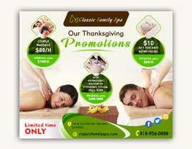 #17 for Design a thanksgiving seasonal promotional banner ad for a spa af mylogodesign1990