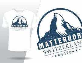 #109 for Design a Mountain T-shirt by fahidyounis