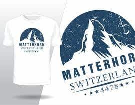 #130 for Design a Mountain T-shirt by fahidyounis