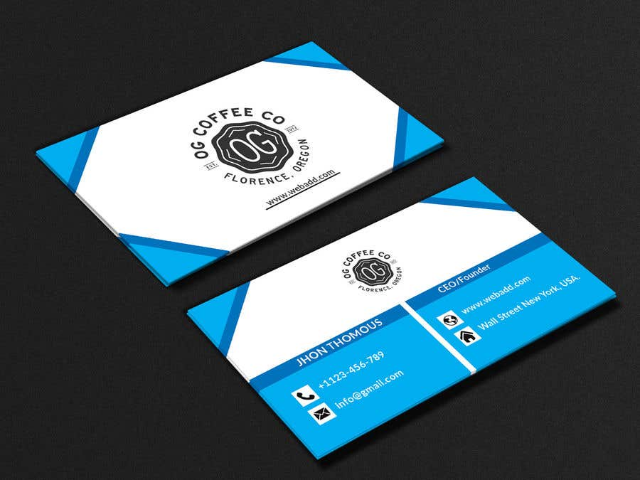 Entry 178 By Shamimshahed6663 For I Need A Business Card Design