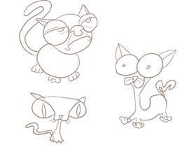 #225 for Draw 3 funny cartoon animals by Voczoro