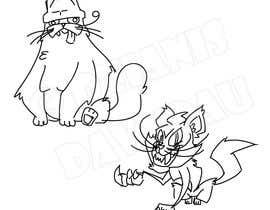 #212 for Draw 3 funny cartoon animals by DzianisDavydau