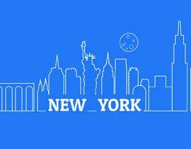 #56 for Skyline line sketch (New York) by matemiminoshvili