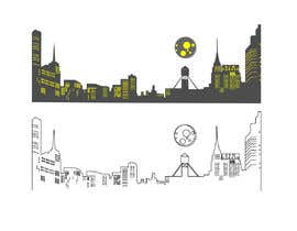 #59 for Skyline line sketch (New York) by pgaak2