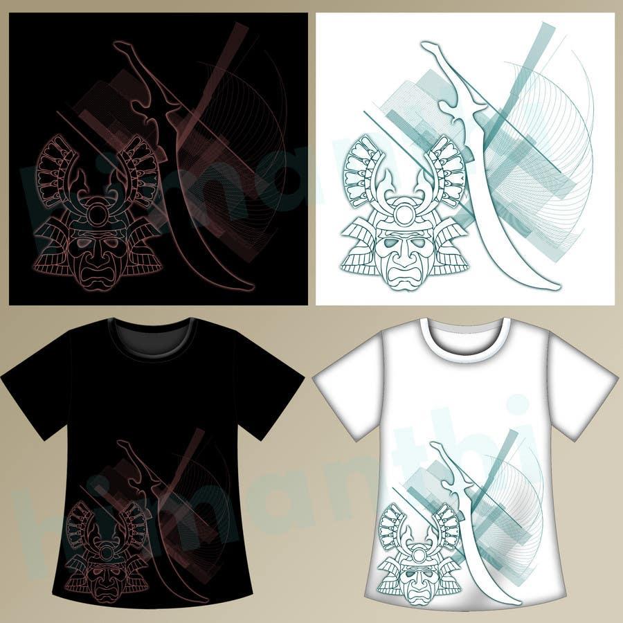Contest Entry #                                        87                                      for                                         Samurai T-shirt Design for Cripplejitsu