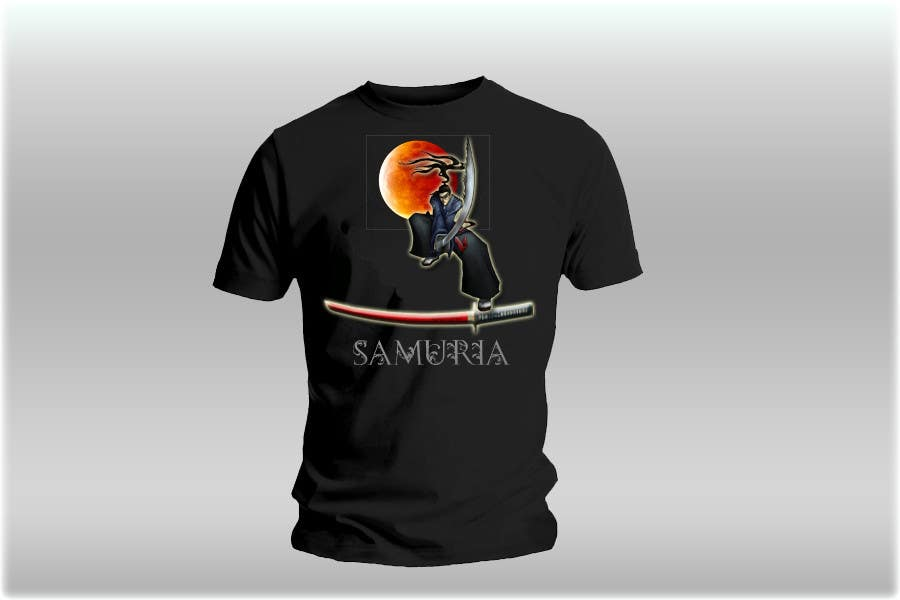 Contest Entry #                                        33                                      for                                         Samurai T-shirt Design for Cripplejitsu