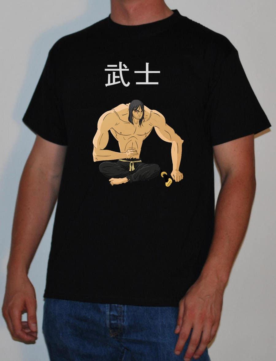 Contest Entry #                                        80                                      for                                         Samurai T-shirt Design for Cripplejitsu