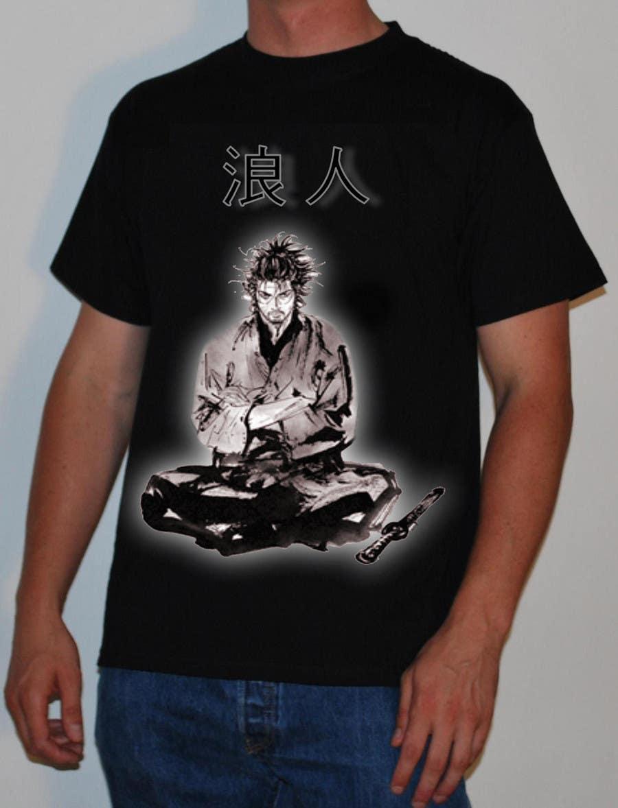 Contest Entry #                                        41                                      for                                         Samurai T-shirt Design for Cripplejitsu