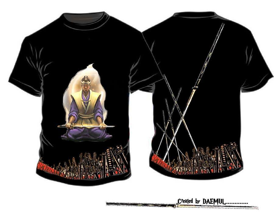 Contest Entry #                                        29                                      for                                         Samurai T-shirt Design for Cripplejitsu