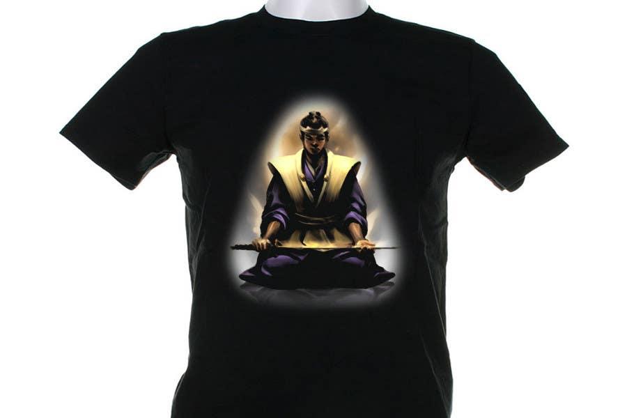 Contest Entry #                                        58                                      for                                         Samurai T-shirt Design for Cripplejitsu