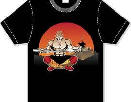 nº 19 pour Samurai T-shirt Design for Cripplejitsu par MyPrints