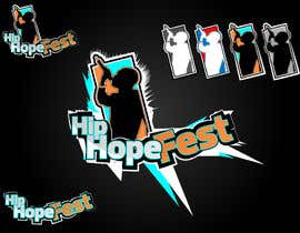 #41 para Logo Update for Hip Hope Fest por hatterwolf