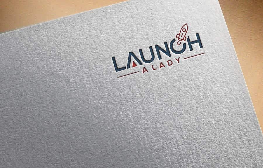 Kilpailutyö #28 kilpailussa logo for launch a lady