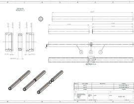 #3 สำหรับ Need TWO BLUEPRINTS made for stainless steel straw โดย hammani92