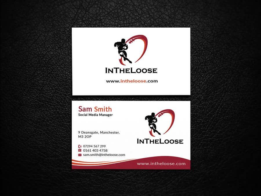 Penyertaan Peraduan #245 untuk Design a Business Card