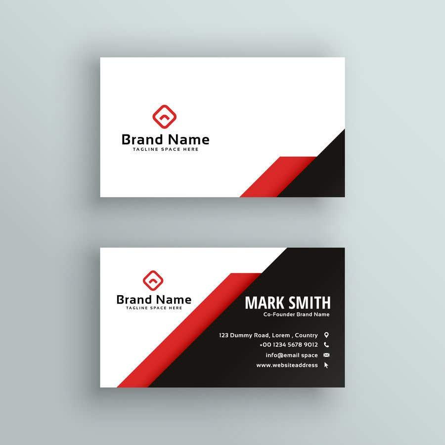Penyertaan Peraduan #160 untuk Design a Business Card