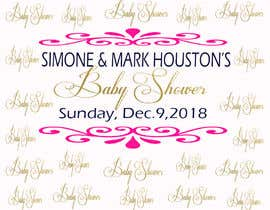 #36 for Baby Shower Banner Design by Mgopulok1
