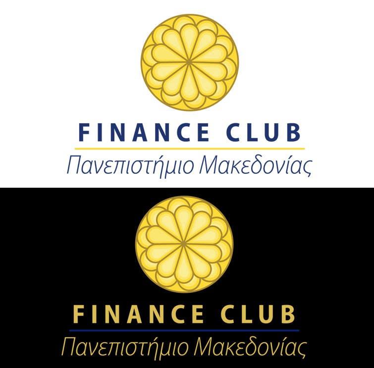 Inscrição nº                                         11                                      do Concurso para                                         Разработка логотипа for Finance Club of University of Macedonia