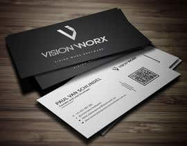 Mahimkhan705 tarafından Design a modern and minimalist business card as well as a sticker için no 758