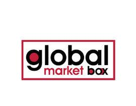 #17 for I need a logo designed for Global Market Box in black and white, thin clean font, maybe including the compass shape and globe. Not too busy. (Photo attached is just an idea to incorporate.) af shakilhd99