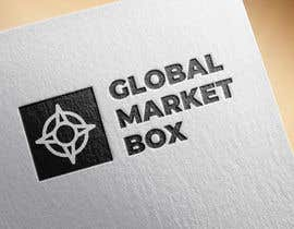#3 for I need a logo designed for Global Market Box in black and white, thin clean font, maybe including the compass shape and globe. Not too busy. (Photo attached is just an idea to incorporate.) af mpaulagerard