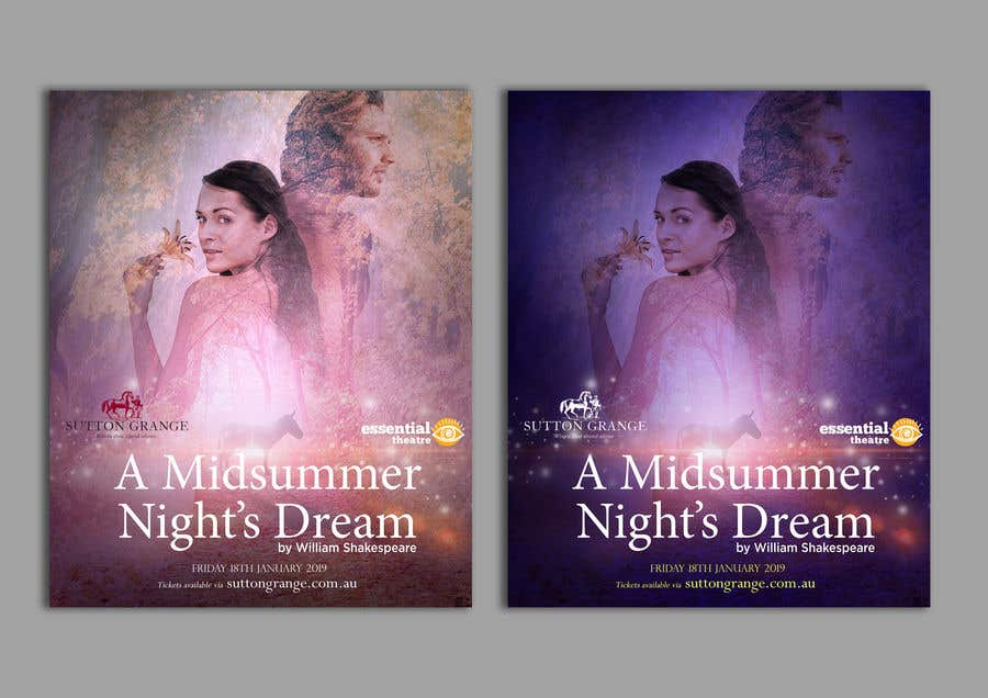 Contest Entry #71 for Theatre Poster - A midsummer nights dream