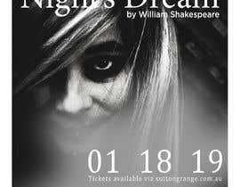 #87 pentru Theatre Poster - A midsummer nights dream de către souleyedesign