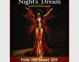 #82 pentru Theatre Poster - A midsummer nights dream de către mail2taniap