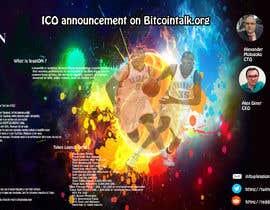 freelancer16918 tarafından Bitcointalk posting of ICO announcement for https://www.leagion.team/ için no 27