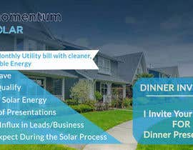 #22 for Create a Leave-behind/Dinner Invitation for potential solar customers af omarfaruk72571