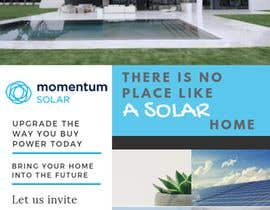 nº 34 pour Create a Leave-behind/Dinner Invitation for potential solar customers par valemiglioli