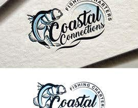 #93 para Coastal Connections Fishing Charters - New Custom Logo Contest por fourtunedesign