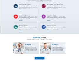 #10 for Homepage Mockup for Chiropractor by amitpokhriyalchd
