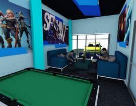 Nro 297 kilpailuun The Eagles gaming center (branding +interior design +  banner exterior design) käyttäjältä aliwafaafif