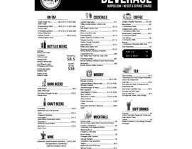 #13 for Build me a bar beverage menu af anwar4646