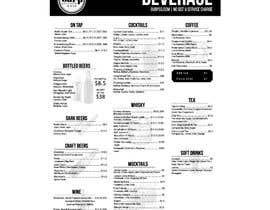 #14 for Build me a bar beverage menu af anwar4646