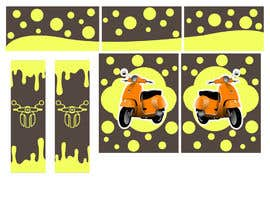 #17 untuk Moped.Ge Moped and Motorcycle shop front sticker design oleh aqibzahir06