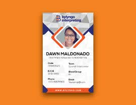 #20 for Create an ID template for employees by sabuj29