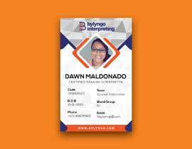 #20 untuk Create an ID template for employees oleh sabuj29