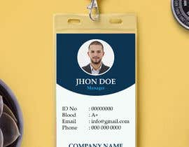 #9 for Create an ID template for employees by onlinemahin