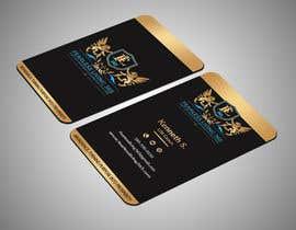 #77 para Design double sided business cards por Rahat4tech